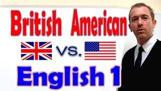 英語学習動画:アメリカ英語・イギリス英語
