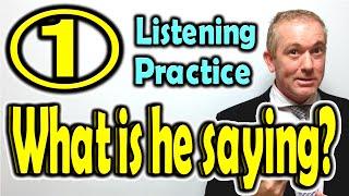 英語学習動画:リスニングクイズ Listening Practice